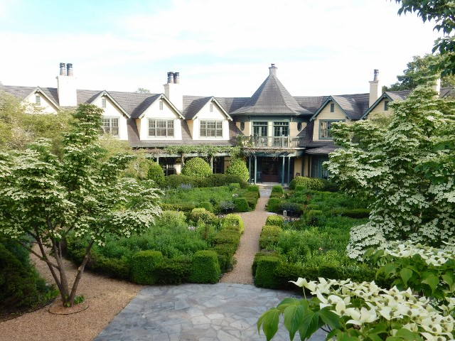 Om Sanctuary, a non-profit retreat center is just minutes away from downtown Asheville.