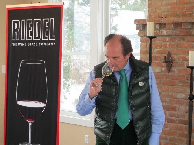 George Riedel, 10th generation glass maker (Photo, Riedel)