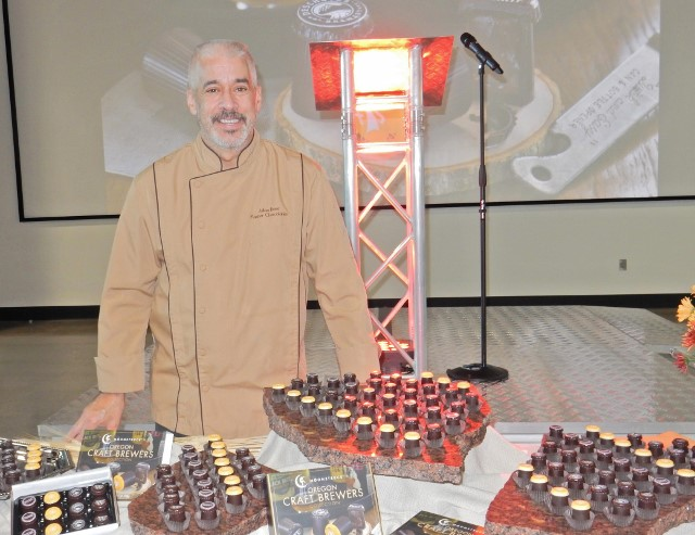 Moonstruck's Head Chocolatier, Chef Julian Rose