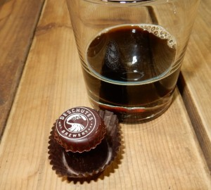 Black Butte Porter truffle, made one of the author's favorite beers, somehow managed to be her collection favorite.